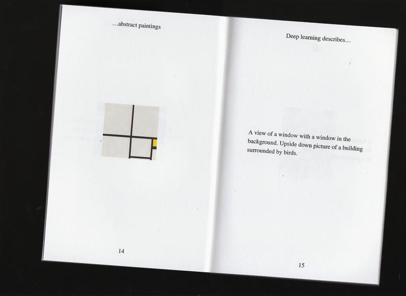 Learning describes Abstract Paintings by François Girard-Meunier and Emmanuel Marceau , 2015